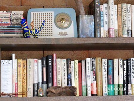 ラジオプラント本棚