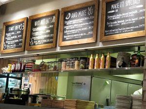 恵比寿CAFE PARKカウンター