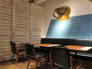 恵比寿CAFE PARKテーブル席