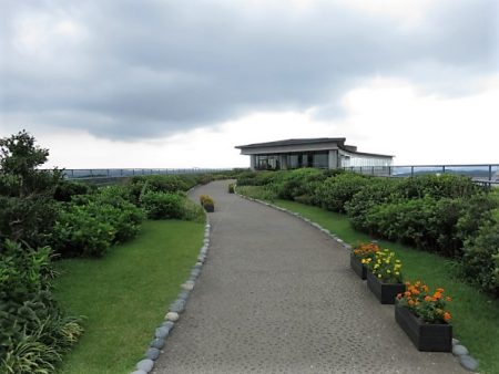 志摩観光ホテル屋上庭園