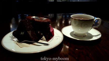 ミルフィーユショコラとほうじ茶