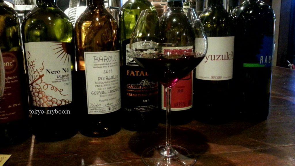 カンティーナ カーリカ・リの赤ワイン