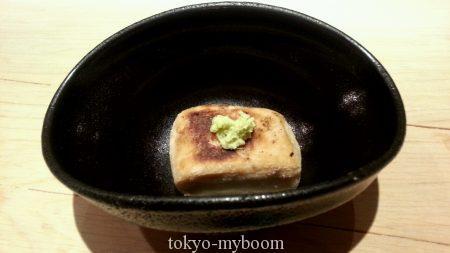 湯島くろぎ焼き胡麻豆腐