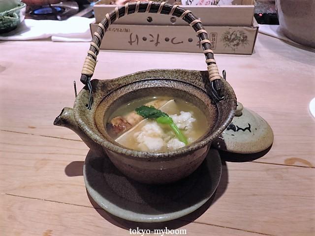 湯島くろぎ松茸と鱧の土瓶蒸し