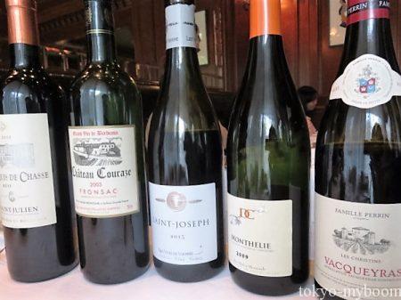 白グラスワイン4種類