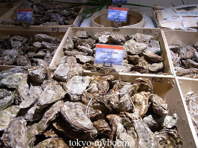 ギャラリーラファイエット牡蠣
