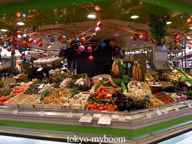 ギャラリーラファイエット野菜売場