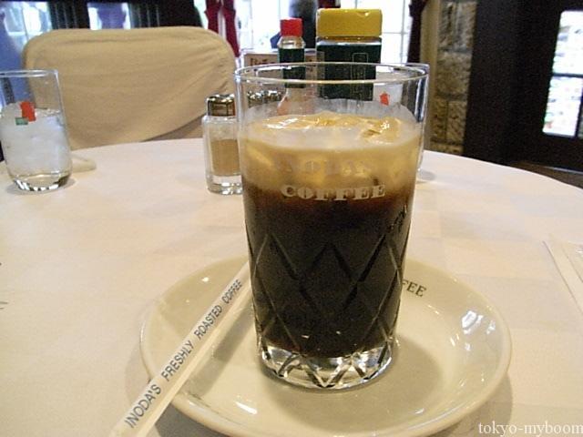 イノダ珈琲アイスコーヒー