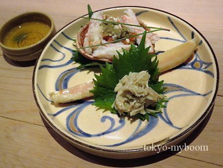 津居山(ついやま)の松葉蟹