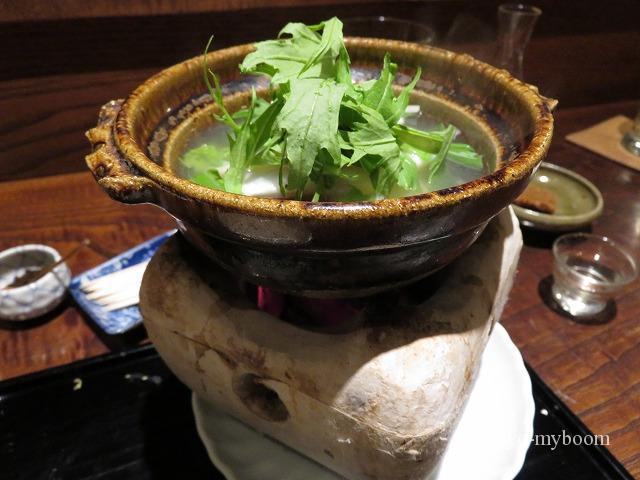 秋山のカワハギ鍋