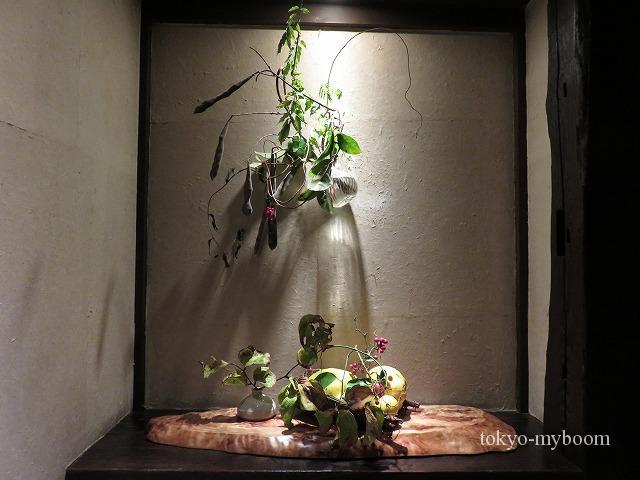 秋山の飾り棚