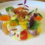山地陽介野菜とたこアップ