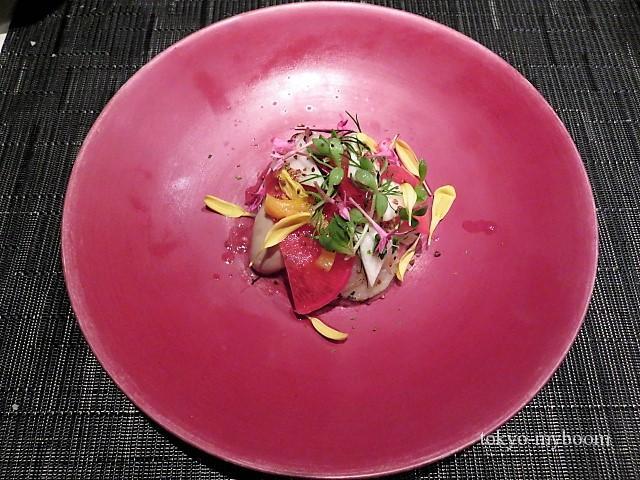 帆立と牡蠣のサラダ