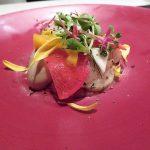 帆立と牡蠣のサラダアップ