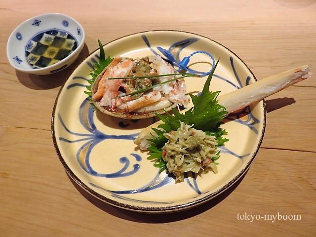 津居山港の蟹