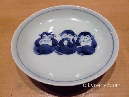 お猿さんの小皿