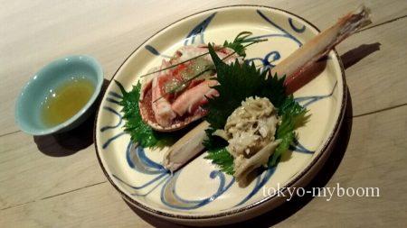 津居山の蟹
