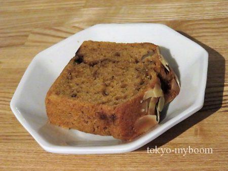 黒糖とクルミのパウンドケーキ