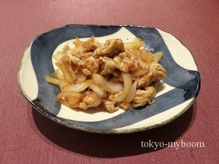 タモリ生姜焼き