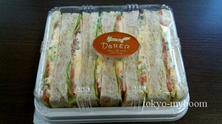 ドーレのハム玉子サンド