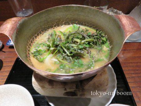 桜マスの鍋