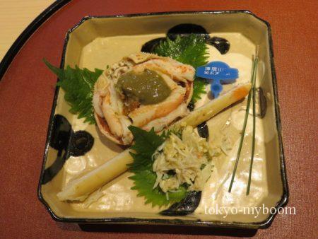 津居山産の蟹