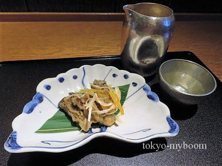 雁木と牡蠣