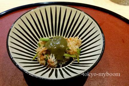 蟹味噌ご飯