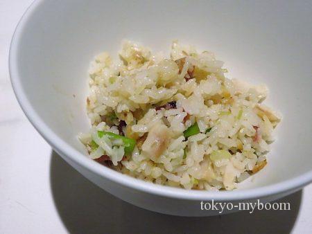 金目鯛の炊き込みご飯2