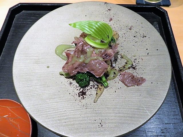 京都和食おすすめじき宮ざわからすみ
