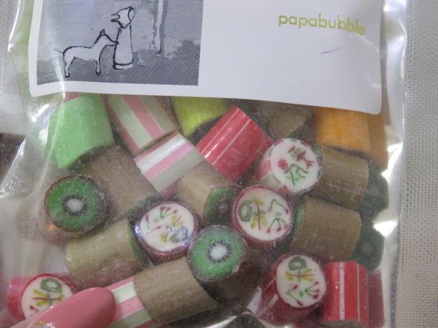 GW東京土産パパブブレ限定キャンディ