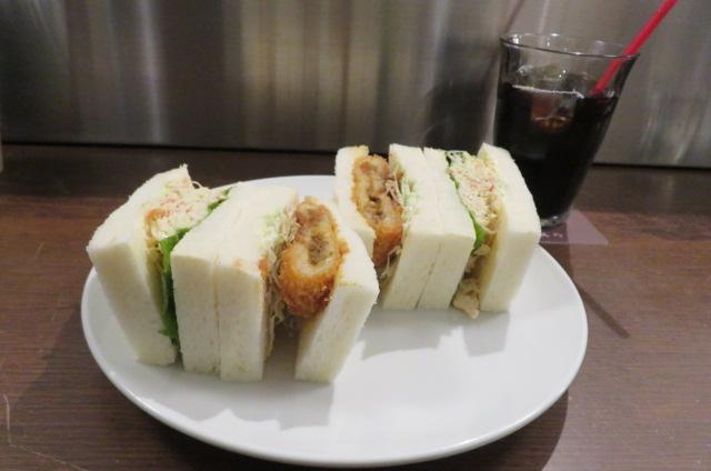 札幌さえらサンドイッチ