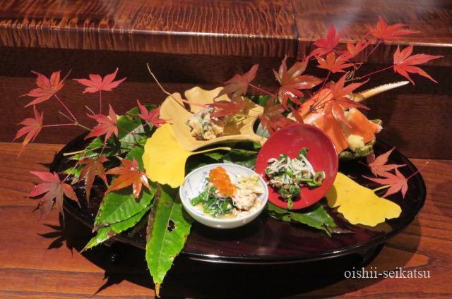 京都和食おすすめ秋山