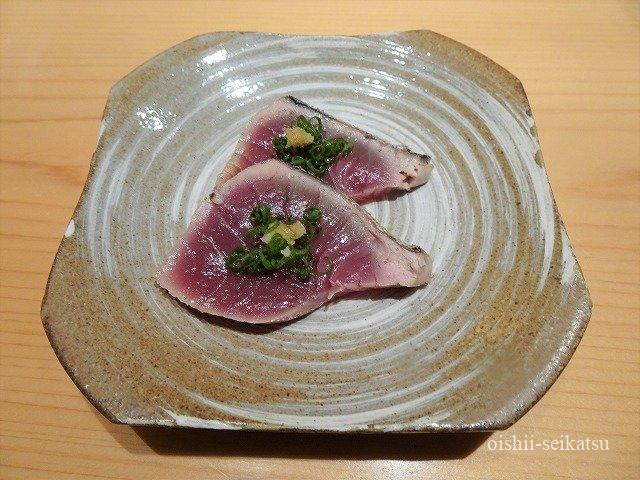 鮨つぼみ鰹