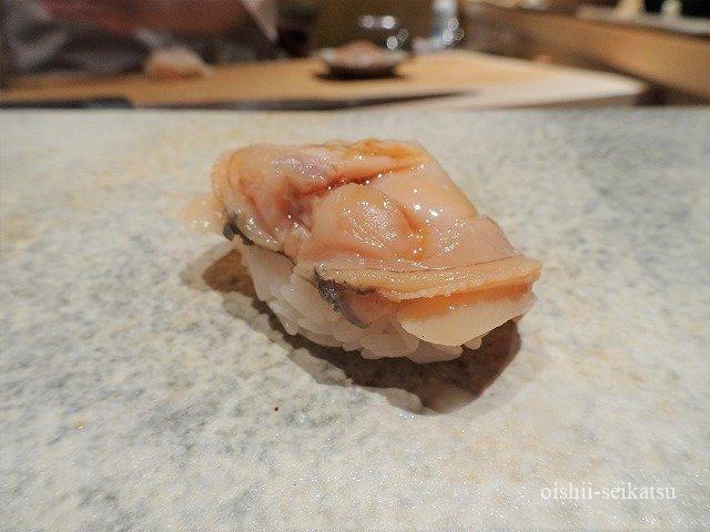 鮨つぼみ煮はまぐり